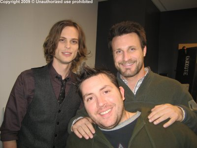 Andrew with Rick and Matty