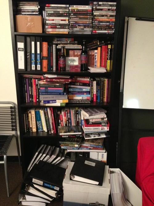 CM research bookshelf
