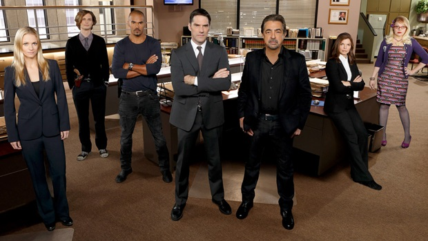 Aaron Hotchner, David Rossi, Spencer Reid, Penelope Garcia, Jennifer Jareau, Derek Morgan, and Alex Blake: Team Season 9