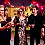 Spencer Reid, Derek Morgan, Aaron Hotchner, Penelope Garcia, Alex Blake and Dave Rossi all look on as JJ pays tribute to her sister.