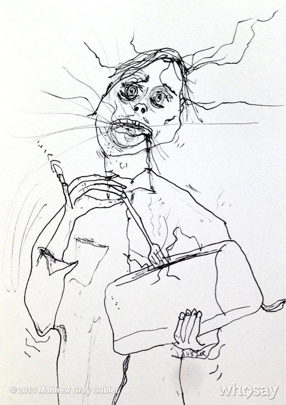 Featuring Fantastic Phantasms Art By Matthew Gray Gubler