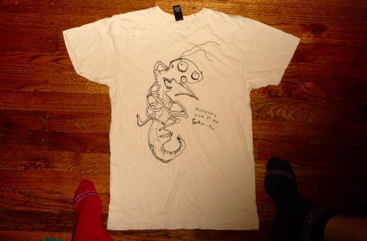 gubler flu t shirt