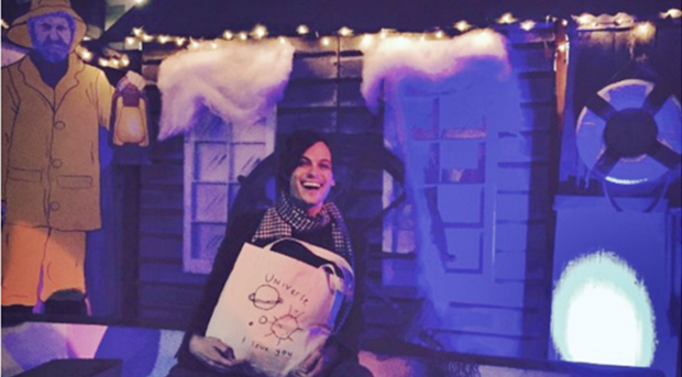 Matthew Gray Gubler Creates Spiffy Tote Bag For Charity!