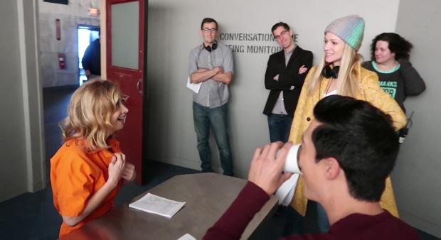 EXCLUSIVE PHOTOS!* Criminal Minds BTS Shots of AJ Directing!